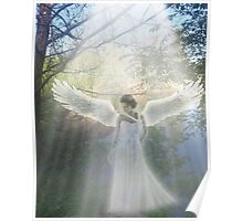 Riverbank Angel Poster