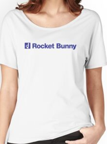 blue rocket bunny Women's Relaxed Fit T-Shirt