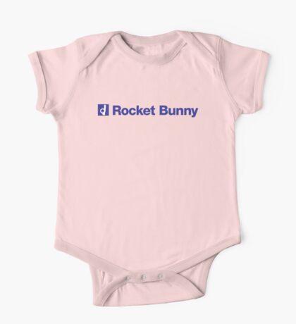 blue rocket bunny One Piece - Short Sleeve