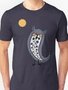 Paisley Owl Unisex T-Shirt