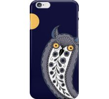 Paisley Owl iPhone Case/Skin