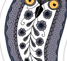 Paisley Owl Sticker