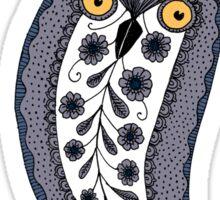 Paisley Owl Sticker
