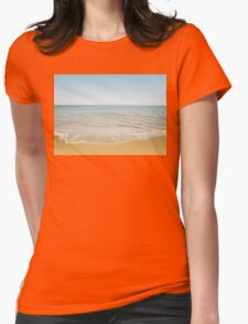Beach Days Womens Fitted T-Shirt