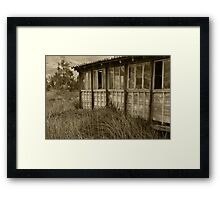 Wall of a Building Framed Print