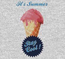 Ice Cream Summer Kids Tee