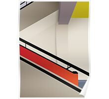 Funky Little Staircase Poster