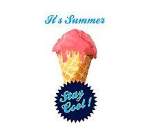 Ice Cream Summer Photographic Print
