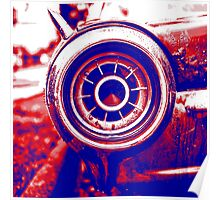 1962 Ford Thunderbird Tail Light Poster