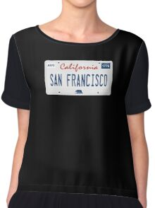 San Francisco. Chiffon Top