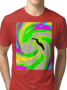 The Bird - Fluorescent  Tri-blend T-Shirt