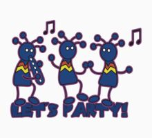 Let's Party! One Piece - Short Sleeve