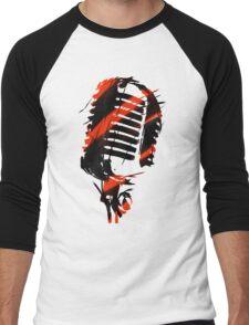 Microphone Men's Baseball ¾ T-Shirt