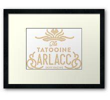 Tatooine Sarlaccs Framed Print