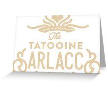 Tatooine Sarlaccs Greeting Card