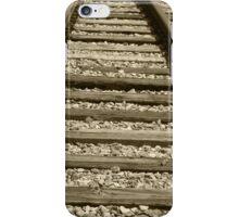 Steel Railway Tracks iPhone Case/Skin