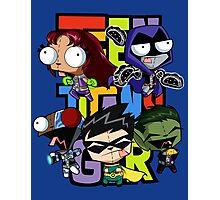 Teen Titans Gir! Photographic Print