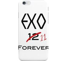 EXO 11 forever iPhone Case/Skin