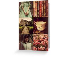 Lady Belle of Avonlea Greeting Card