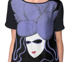 Evil Eye Enigma Women's Chiffon Top