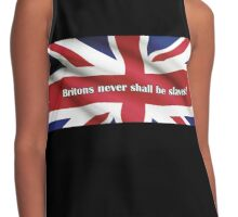 Britons never shall be slaves! Contrast Tank