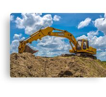 heavy equipment Canvas Print
