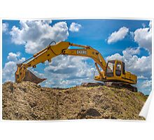 heavy equipment Poster