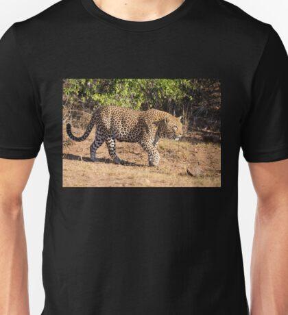 Stalking Leopard in Kruger National Park, South Africa Unisex T-Shirt