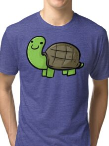 Cute Turtle Tri-blend T-Shirt