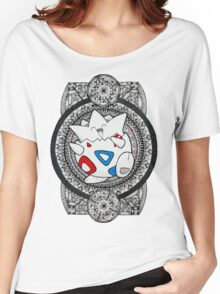 Pokemon Togepi Mandala Women's Relaxed Fit T-Shirt