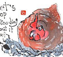 Brooding Hen (v.2) by dosankodebbie