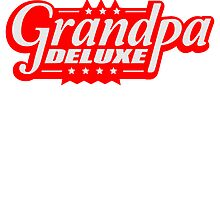 Best Super Grandpa Deluxe logo by Style-O-Mat
