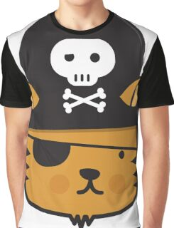 Pirate Cat - Jumpy Icon Series Graphic T-Shirt