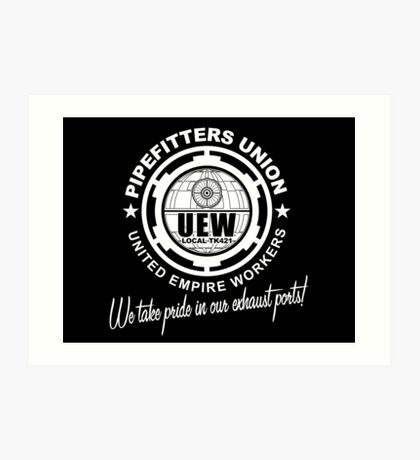 United Empire Workers Union Art Print