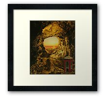 Out of Touch Framed Print
