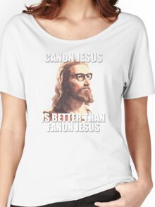 Canon Jesus Women's Relaxed Fit T-Shirt