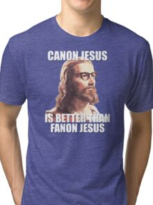 Canon Jesus Tri-blend T-Shirt