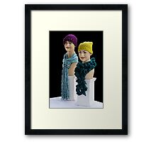 Keeping Warm! Framed Print