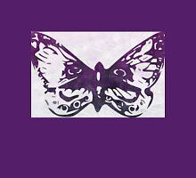 Purple Watercolor Butterfly Women's Relaxed Fit T-Shirt