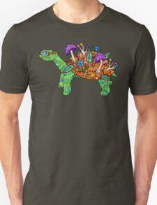 Rainbow Mushroom Tortoise  T-Shirt