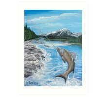 Pacific Northwest catch of the Day Art Print