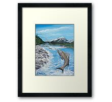 Pacific Northwest catch of the Day Framed Print