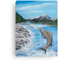 Pacific Northwest catch of the Day Canvas Print