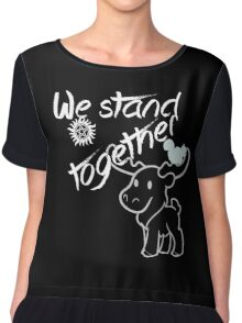 SPNFamily Stands Together Chiffon Top