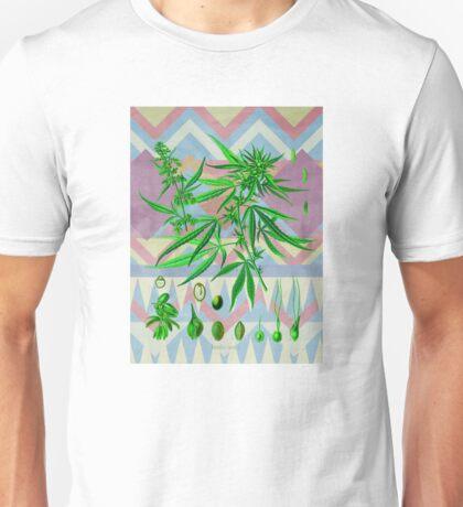 Vintage Cannabis Unisex T-Shirt