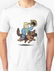 Vault boy and Dogmeat Unisex T-Shirt