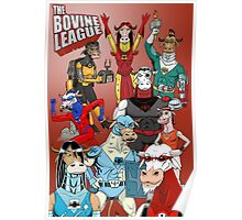 The Bovine League Poster