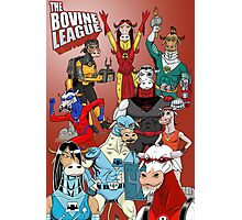 The Bovine League Photographic Print