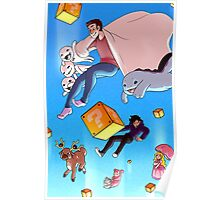 Falling into Fame - Jimmy Whetzel Poster
