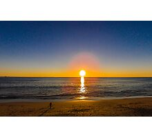 Long Sunset  Photographic Print